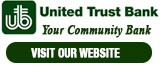 United Trust Bank Your Community Bank 12330 S. Harlem Ave (708) 728-9900
